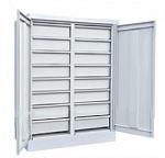 Антистатический шкаф для хранения комплектующих (16 ящиков)